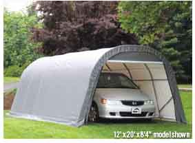 8' - 15' Wide Heavy Duty Garages