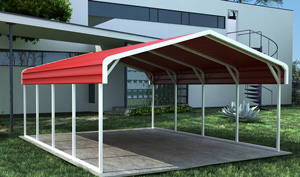 enclosed carport plans