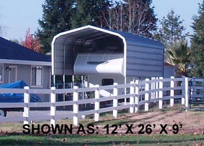12' x 26' Standard Carport - $995.00