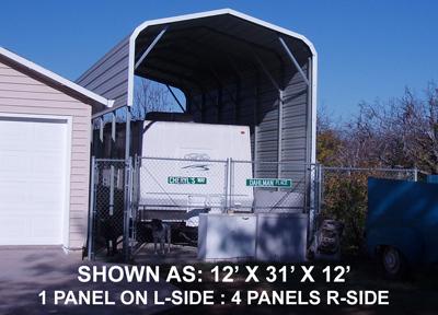 12' x 31' Standard Carport - $1195.00
