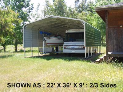 22' x 21' Standard Carport - $1295.00