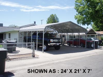 24' x 21' Standard Carport - $1495.00