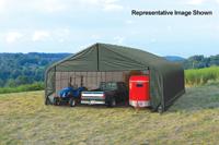 30x40x16 Peak Style Shelter
