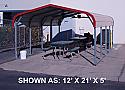 12' x 21' Standard Carport - $695.00